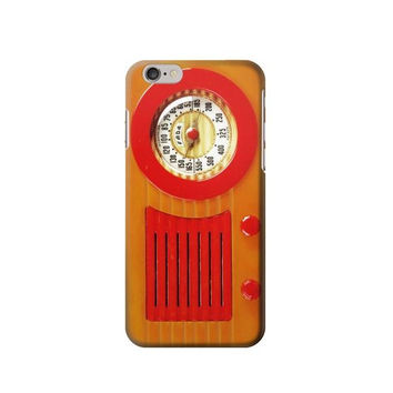 P2780 Vintage Bakelite Radio Orange Phone Case For IPHONE 6S