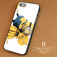 Minion loves bananas iPhone 4 5 5c 6 Plus Case | Samsung Galaxy S3 S4 S5 Note 3 4 Case | iPod 4 5 Case | HtC One M7 M8