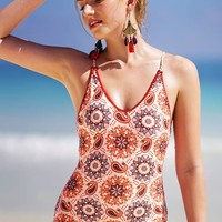 Cupshe Like Fanta Print One-piece Swimsuit