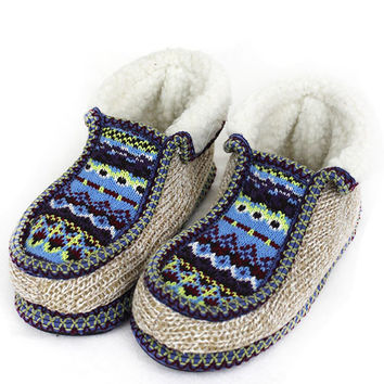 Women's Nordic Cozy Knit Slippers