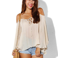 Papaya Clothing Online :: OPEN SHOULDER CAMI TOP