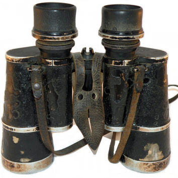 Original WWII 7x50 German BLC Zeiss German Officer Binocular (Dienstglas)