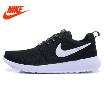 Original 2018 New Arrival Authentic Nike Men's ROSHE ONE RUN Running Shoes Sneakers Classic Breathable Good Outdoor Anti-slip