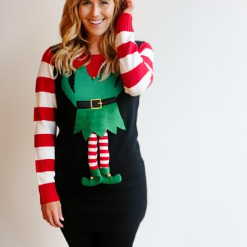 Only 4 Left! Elfin' Ugly Christmas Sweater