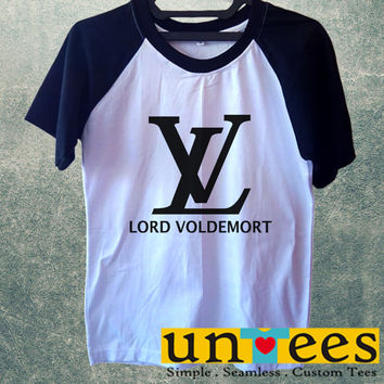 Lord Voldemort Short Raglan Sleeves T-shirt