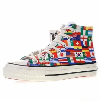 "FIFA World Cup!Converse chuck taylor all star Classic 1970S ""World Cup Flag"" Sneaker 163689C"