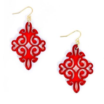 Twirling Blossom Earrings