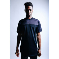 Threadworkshop - S/S Long Tail Football Jersey - Black
