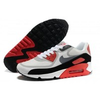 Nike Air Max 90 Premium Tapes Men s Women s Running Shoes Infrared