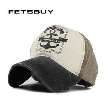 Trendy Winter Jacket FETSBUY  Cotton Wash Baseball Cap Vintage Casual Hat Snapback Truck New For Adult Adjustable Cap gorras Brand Fitted AT_92_12