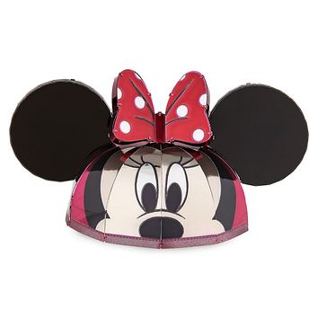 Disney Parks Minnie Mouse Ear Hat Metal Earth Model Kit 3D New