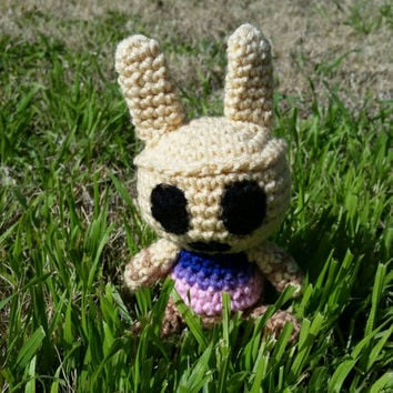 Crochet Amigurumi Animal Crossing New Leaf Villager (Mini Coco)