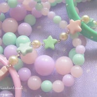 Fun-kei Space Star'n'Pearl bracelet