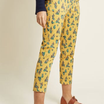 Treasured Perspective Cropped Pants