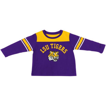LSU Tigers Infant Hike Long Sleeve T-Shirt - Purple - http://www.shareasale.com/m-pr.cfm?merchantID=7124&userID=1042934&productID=555855710 / LSU Tigers