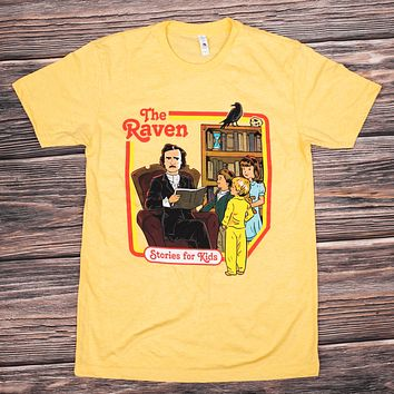 The Poe Raven Retro (Banana) / Shirt