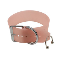 Barbie Choker ( Apricot + Silver ) from CREEPYYEHA