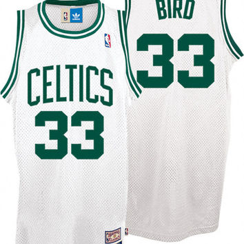 Boston Celtics Larry Bird #33 Home Throwback Jersey