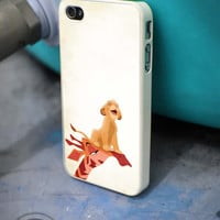 Simba The Lion King pose iPhone 4 5 5c 6 Plus Case, Samsung Galaxy S3 S4 S5 Note 3 4 Case, iPod 4 5 Case, HtC One M7 M8 and Nexus Case