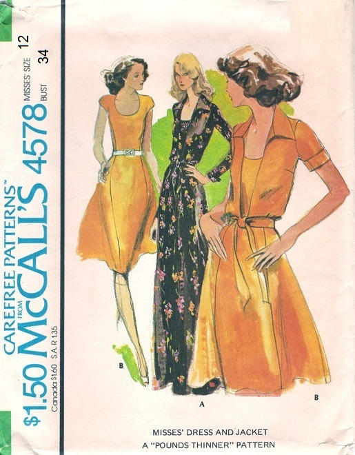 Disco 70s Party Dress Mccall S 4578 From Adele Bee Ann Sewing