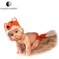 Newborn Photography Prop - Fox