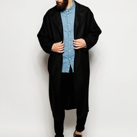 ASOS Duster Coat In Black