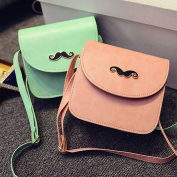 Korean Stylish One Shoulder Bags Summer Ladies Messenger Bags [6582430727]