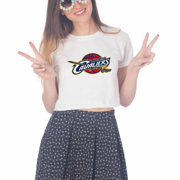 Cleveland Cavaliers For Womens Crop Shirt ***