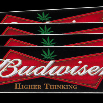 Budwiser (Higher Thinking) Sticker