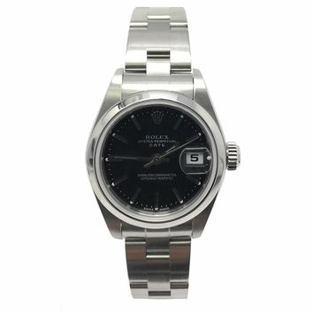 Rolex Date swiss-automatic womens Watch 79160 (Certified Pre-owned)