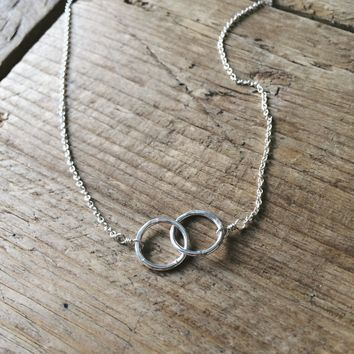 Intertwined Circles Necklace // Joined For Life