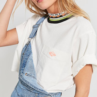 Gotcha X UO Mock-Neck Cropped Tee | Urban Outfitters