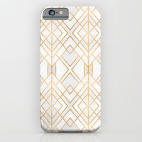 Golden Geo iPhone & iPod Case by Elisabeth Fredriksson