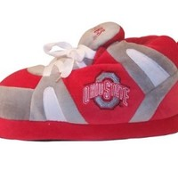 Happy Feet Mens and Womens Ohio State Buckeyes - Slippers - XL