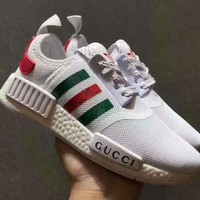 Adidas x GUCCI NMD Fashion Men Women Casual Running Sneakers Sport Shoes