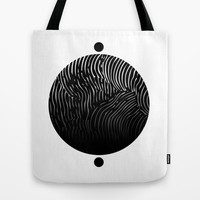 Lined World Tote Bag by littlestlee