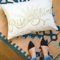 SALE! Rise & Shine Pillow