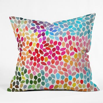 The Rise And Fall Sugar Skull Pillow From Urban Outfitters