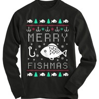 Fishmas Ugly Christmas Sweater
