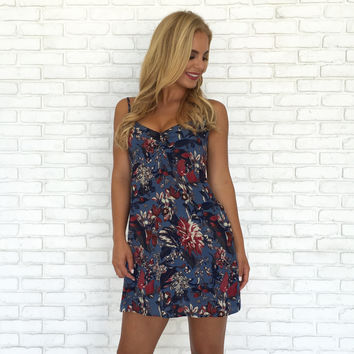 Wildflower Print Shift Dress