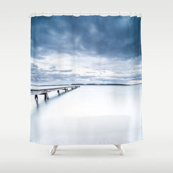 Stretcher Shower Curtain by HappyMelvin