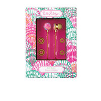 Volume Control Earbuds - Lilly Pulitzer