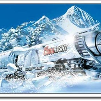 TIN SIGN Coors Light Silver Bullet