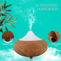 Portable 12V Car Air Freshener Aromatherapy Diffuser GX Diffuser GX-02K Ultrasonic Humidifier LED Light for Home Condition