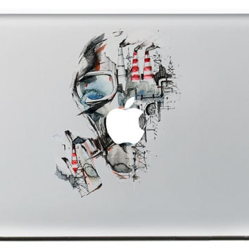 Abstract skull DIY Personality Vinyl Decal Laptop Sticker for macbook Pro Air 13 inch Cartoon laptop Skin shell for mac book