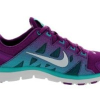Nike Women's Flex Supreme TR 2 Brght Grape/PrPltnm/Trb Grn Training Shoe 9.5 Women US