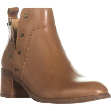 Franco Sarto Richland Studded Ankle Boots, Whiskey, 6 US / 36 EU