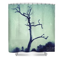 Lone tree Shower Curtain for Sale by Ivy Ho