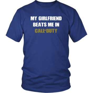 MY GF BEATS ME IN CALL OF DUTY - Bright