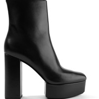 Alexander Wang - Cora leather platform ankle boots